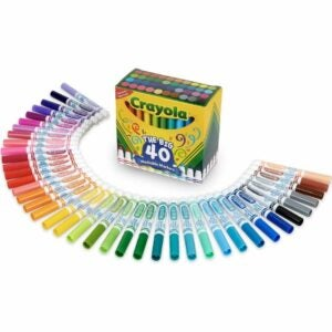 The Best Colored Markers Options: Crayola Ultra Clean Washable Broad Line Markers