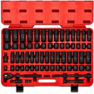 "The Best Impact Sockets Options: Neiko 02448A 1/2"" Drive Master Impact Socket Set, 65"