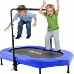The Best Indoor Trampoline for Kids Option: ANCHEER Mini Rebounder Trampoline