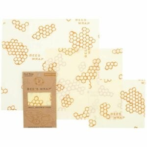 The Best Kitchen Towels Option: Bee's Wrap Reusable Beeswax Food Wraps