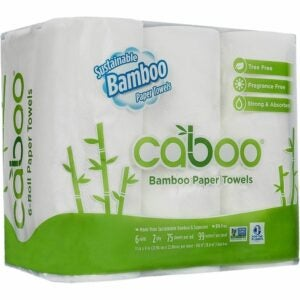 The Best Kitchen Towels Option: Caboo Tree Free Bamboo Paper Towels