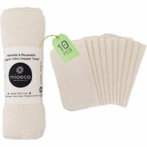 The Best Kitchen Towels Option: Mioeco Reusable Unpaper Towels