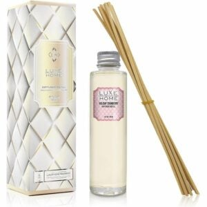 The Best Reed Diffuser Option: Luxe Home Reed Diffuser Refill Oil With Sticks