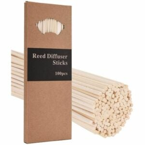 The best reed diffuser option: M&H 100PCS 10 inch reed diffuser sticks