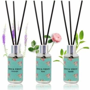 The best reed diffuser option: binca vidou reed diffuser, set of 3