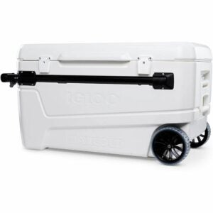 The Best Wheeled Cooler Option: Igloo 110 Qt Glide Pro Portable Wheeled Cooler