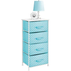 Best Dressers Options: mDesign 4-Drawer Vertical Dresser Storage Tower