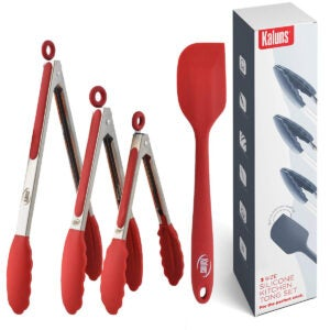 Best Kitchen Tongs Options: Kaluns Kitchen Tongs for Cooking