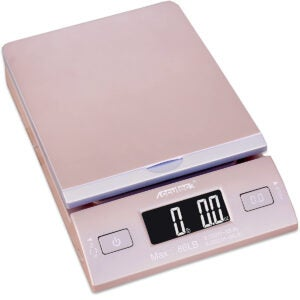Best Postal Scale Options: Accuteck DreamGold 86 Lbs Digital Postal Scale