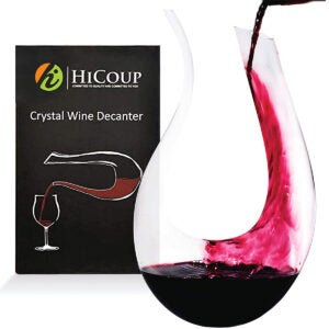 Best Wine Decanter Options: Wine Decanter by HiCoup