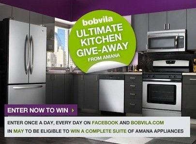 Bob Vila Ultimate Kitchen Give-Away