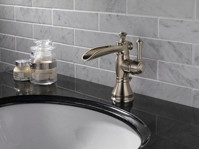 Delta Cassidy Open Channel Spout Faucet