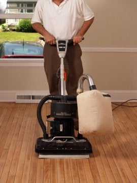 How to Refinish Hardwood Floors - Sander