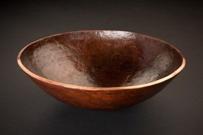 Premier Copper Products Old World Vessel Sink