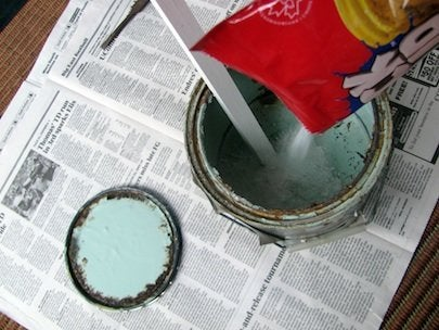 What to Do with Old Paint - Litter