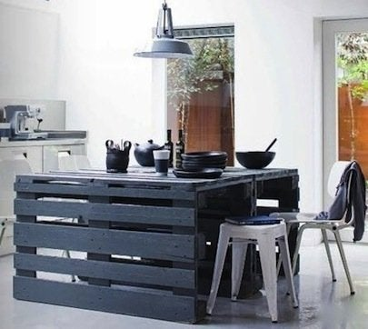 Shipping Pallet DIY Projects - Island