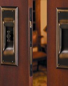Pocket Door Designs Hardware Detail