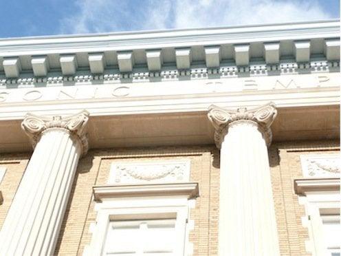 Architectural Cornices - Masonic Temple