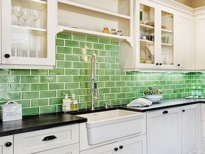 green kitchen tiles fireclay tile an inventive company flush with green ideas 1445