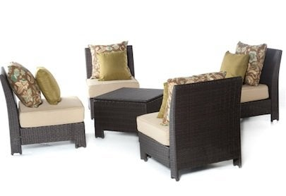 Hayneedle Fiji Bay All-Weather Wicker Outdoor Chat Set