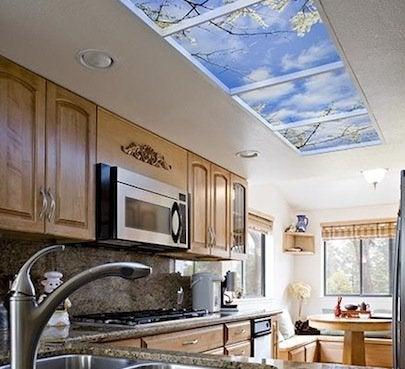 Sky Factory Luminous Ceiling Installation