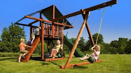 Shopping for a Swingset