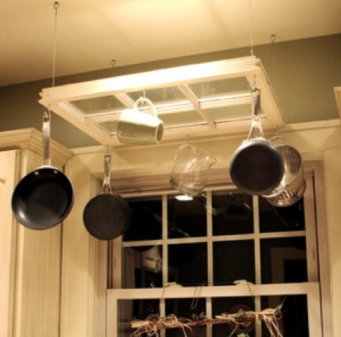 5 Diy Pot Racks Cookware Storage Ideas Bob Vila