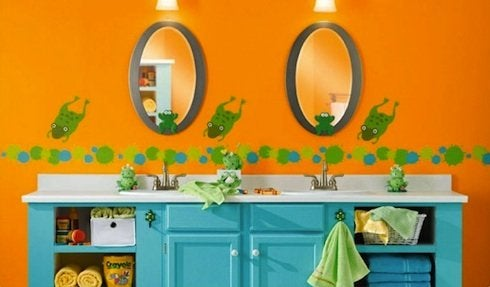 Freshhome-kids-bathroom_orange-e1307238037266