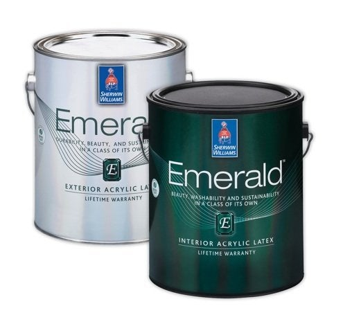 Sherwin Williams Emerald Paint Rev