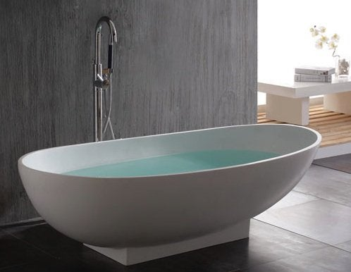 Signaturehardware Kaya Freestanding Resin Tub