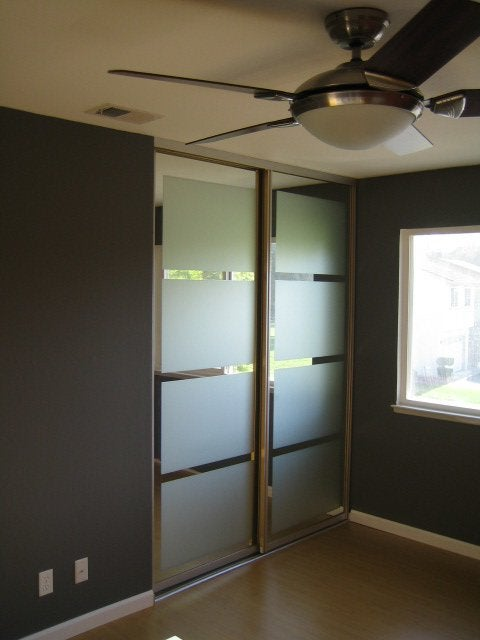 Closet Door Diy Mirred