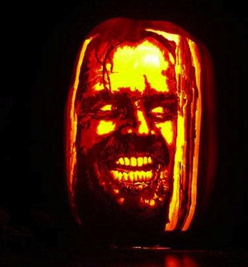 Pumpkin Portrait Jack Nicholson