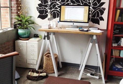 6 diy standing desks bob vila rh bobvila com make your own standing desk ikea make your own standing desk ikea