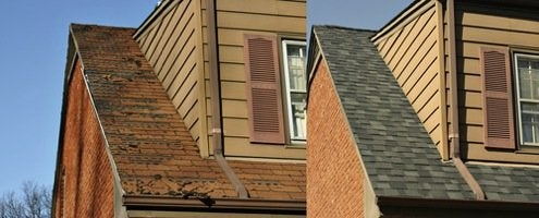 Home Improvement Scrapbook - New Roof