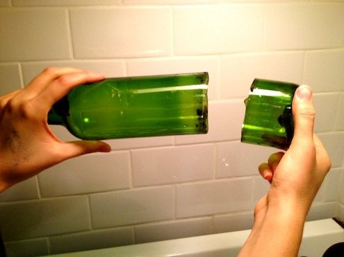 How to Cut Wine Bottles - Cut Wine Bottle
