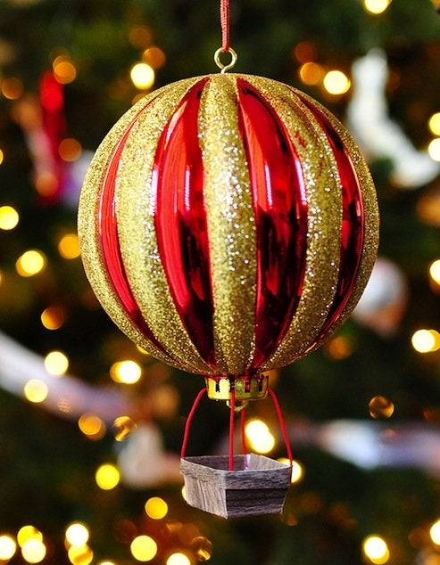 DIY Hot Air Balloon Ornaments