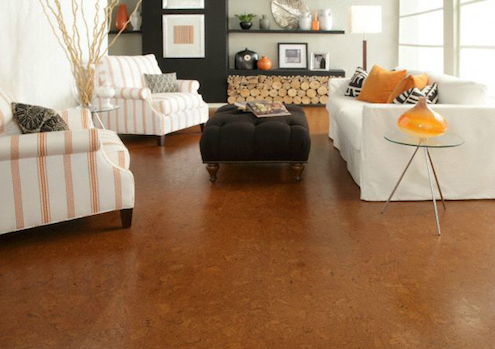 "Cork Floors - Lisbon Cork ""Mora"" Flooring"