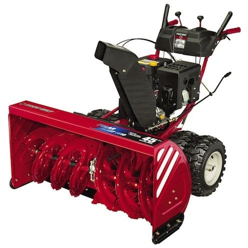 Snow Blower Shopping Guide - Troy-Bilt Deluxe Two-Stage