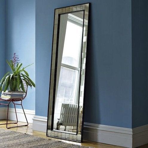 Oversized Mirror - West Elm Antique Tile Floor Mirror