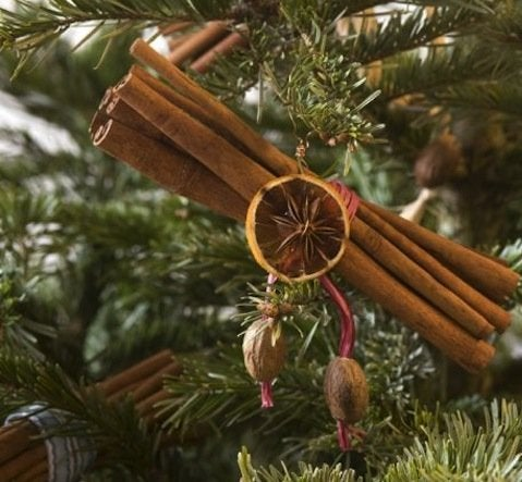 DIY Cinnamon Stick Ornaments