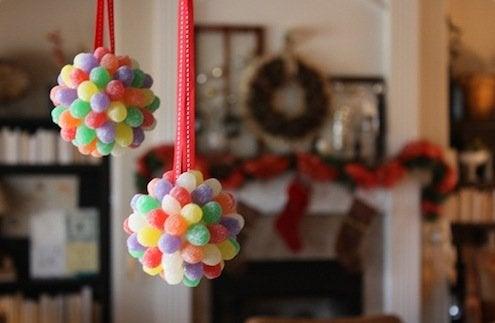 DIY Gumdrop Ornaments