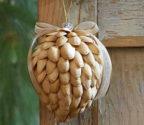 DIY Pistachio Ornaments