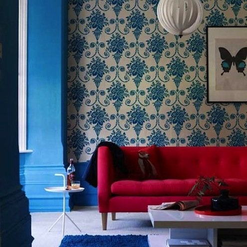 Election Inspired: 18 Red, White, and Blue Interiors