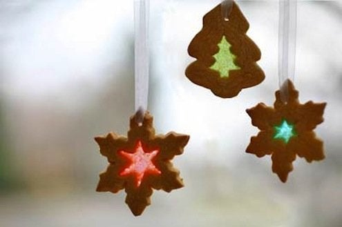 DIY Stained Glass Cookie Ornaments