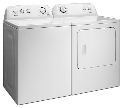 Amana Laundry Pair NED4700YQ and NTW4750YQ