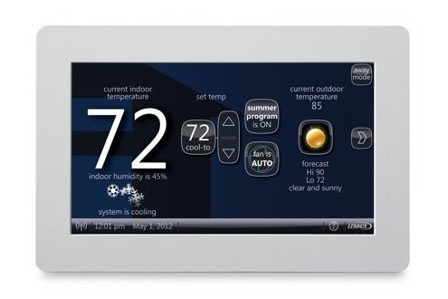 Lennox Icomfort Programmable Thermostat Review Bob Vila