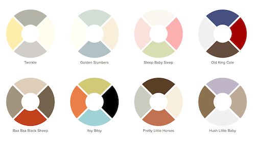 Lullaby Paints - Palettes