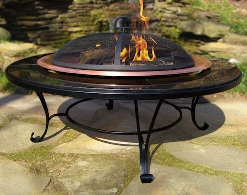 Granite Fire Pit Tabe