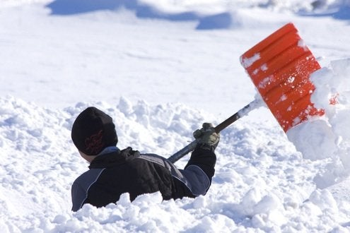 Snow Shovel Tips - Throwing