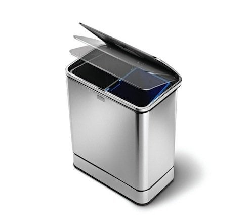 Stainless Steel Trash Can Give-Away